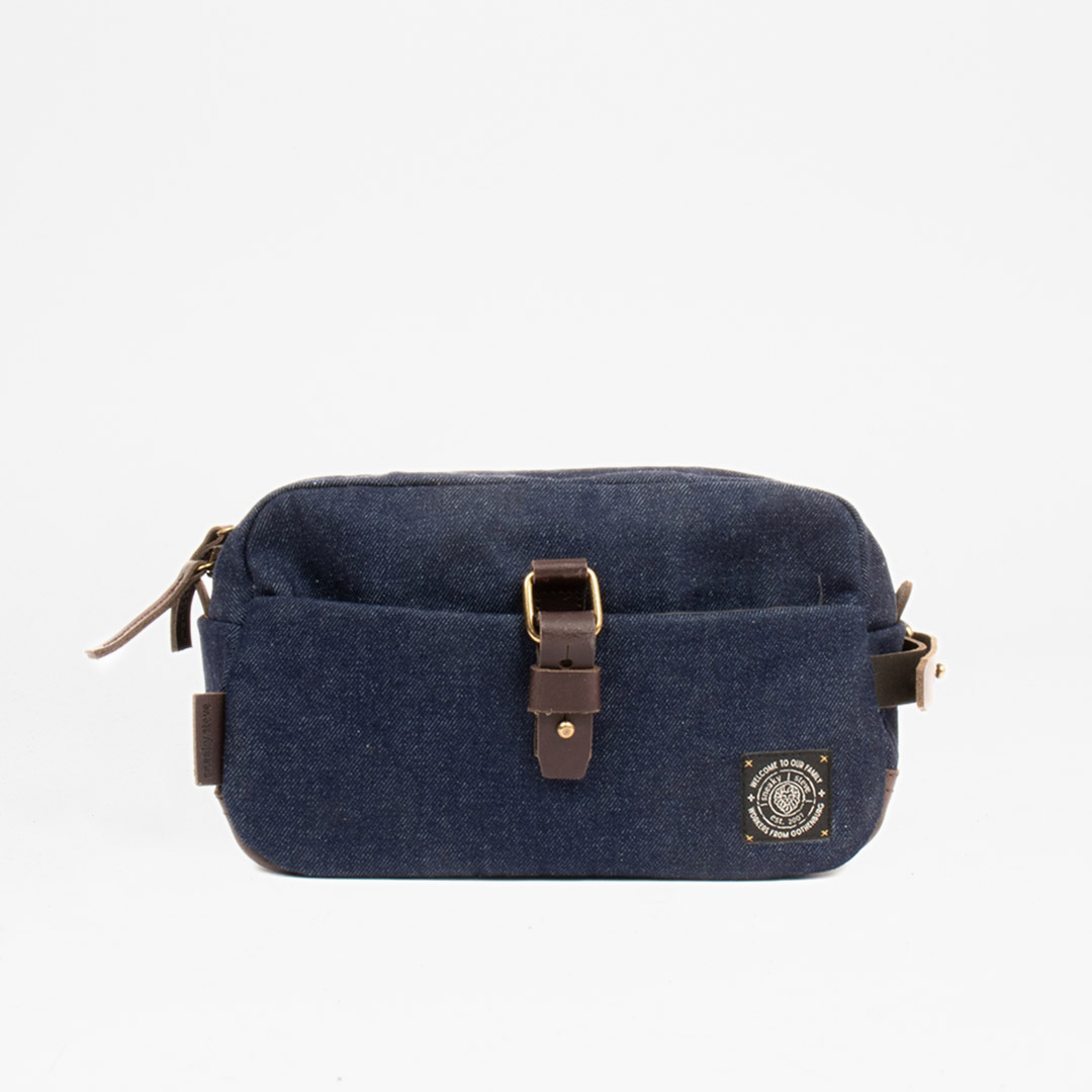 Ellery Toilet Bag Denim