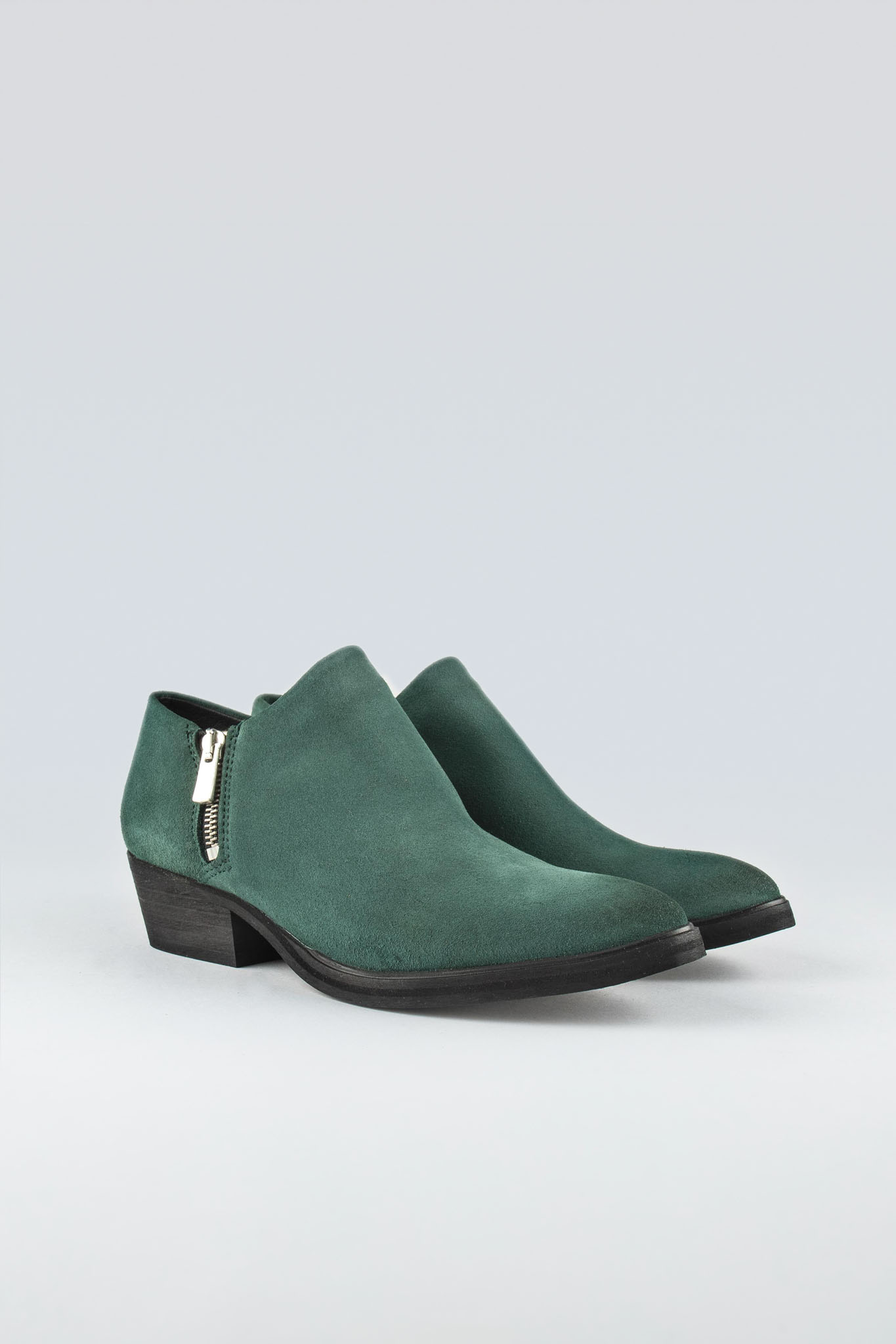 Dingy W Suede Green