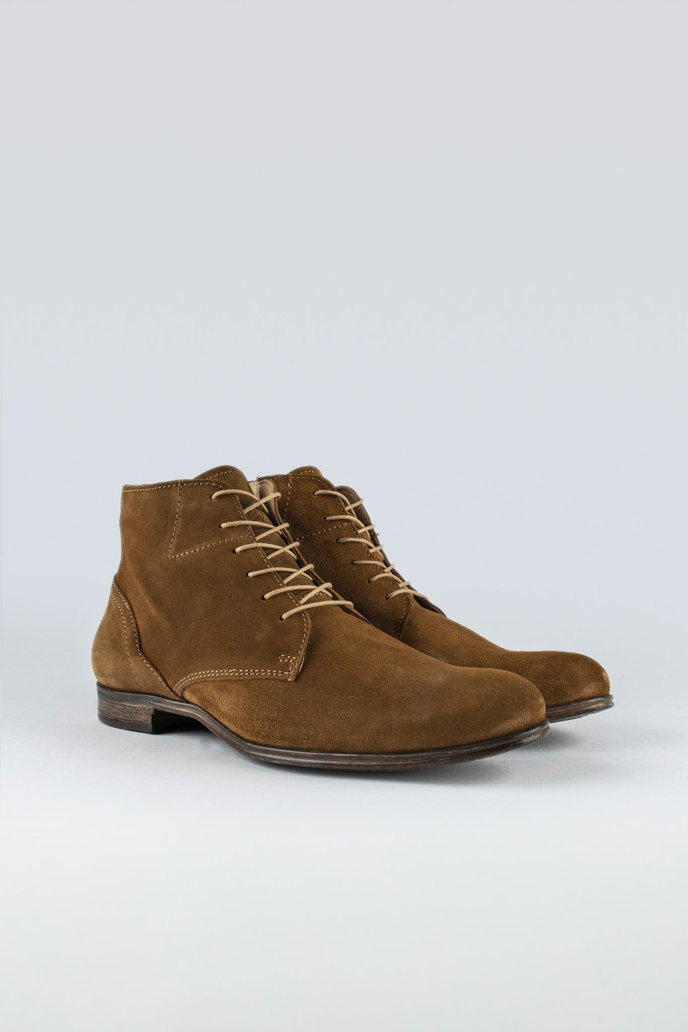 Dirty Mid Tobacco Suede