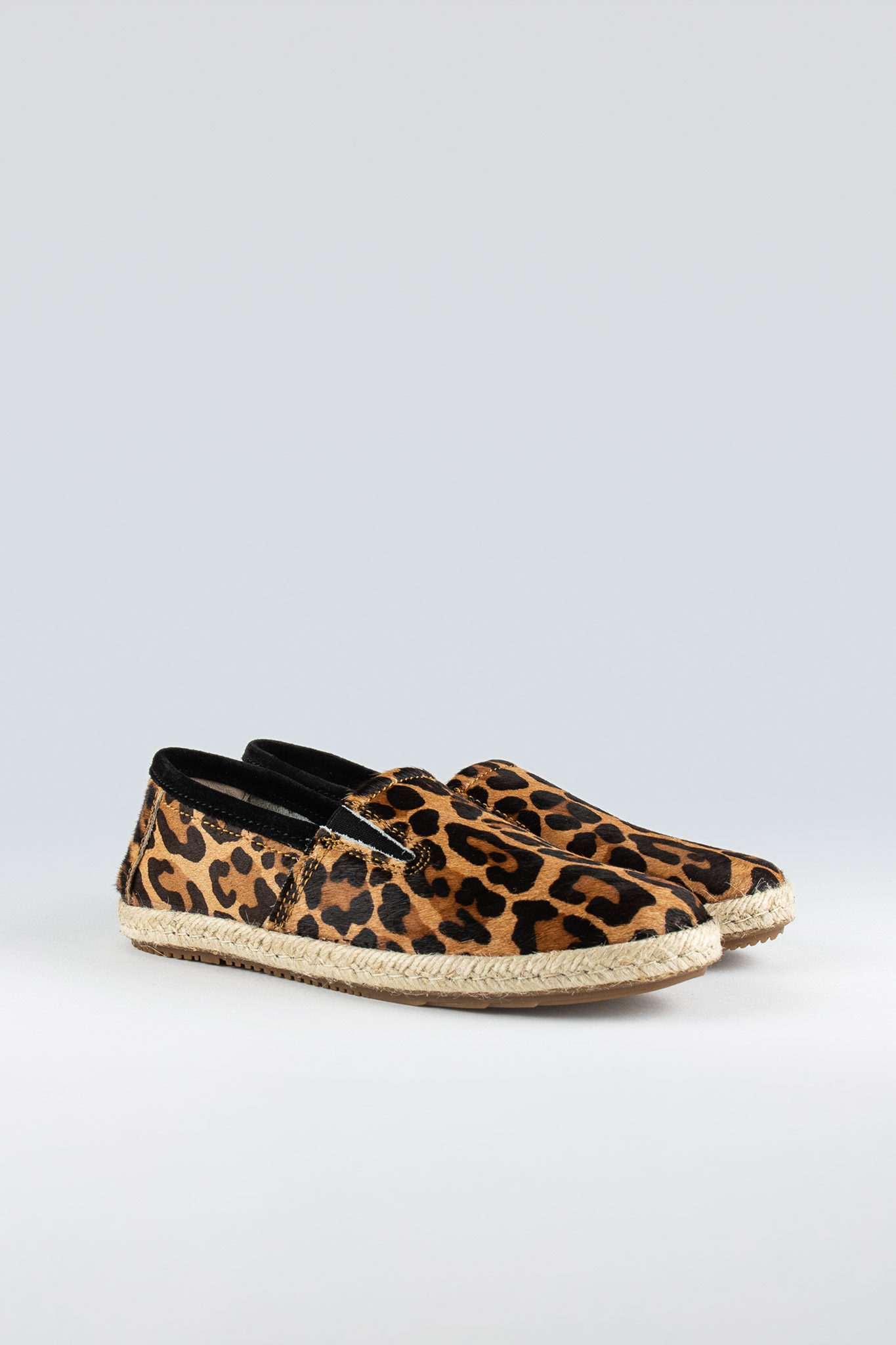 Seal W Pony Hair Caramel Leopard