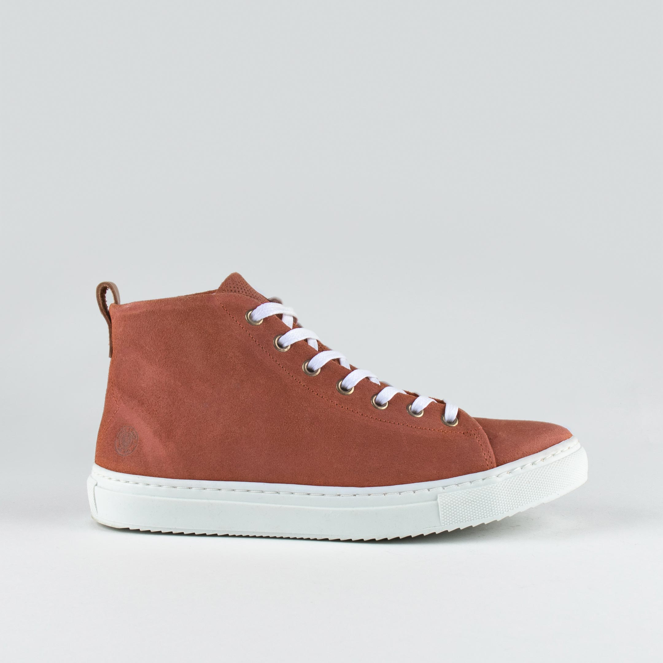 Stoked High W Lt Rust Suede